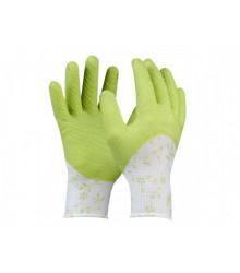 Pracovné rukavice - Flower - veľkosť 7